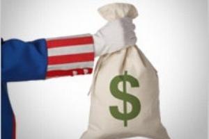 Fitch hạ triển vọng xếp hạng tín dụng Mỹ xuống mức tiêu cực
