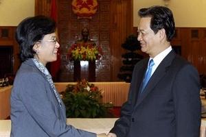 Thủ tướng tiếp Giám đốc điều hành Ngân hàng Thế giới