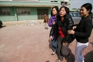 Hà Nội: Bé 4 tuổi rơi từ tầng 9 chết thảm