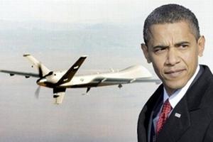 Obama bị máy bay không người lái 'tấn công'