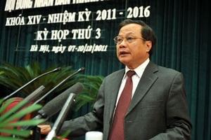 Năm 2011: Tăng trưởng kinh tế của Hà Nội chỉ đạt 10,1%