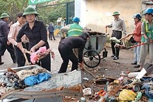 Hà Nội: Tổng vệ sinh môi trường Tết Nguyên đán 2012