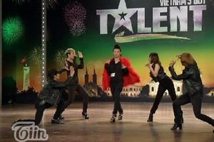 Màn tài năng cực sốc của thí sinh Vietnam's Got Talent