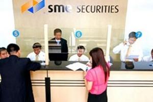 SME tiếp tục bị đình chỉ hoạt động giao dịch