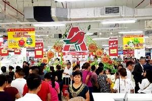 Khai trương siêu thị Auchan thứ 15 tại Hà Nội