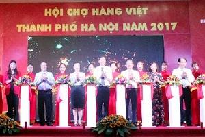 Khai mạc Hội chợ hàng Việt Nam Thành phố Hà Nội năm 2017