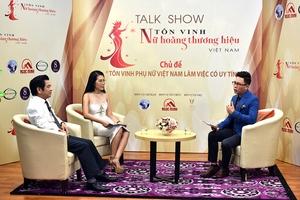 Chương trình Nữ hoàng thương hiệu Việt Nam: Tôn vinh những người phụ nữ hiện đại năm 2018