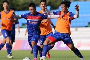 ĐT U22 Việt Nam được tiếp 'doping' trong trận gặp Mokpo City FC