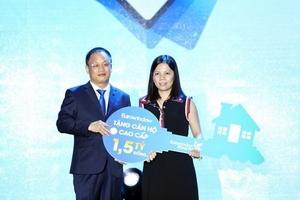 Eurowindow trao thưởng căn hộ trị giá 1,5 tỷ đồng cho khách hàng