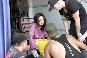 'Đả nữ' Ngô Thanh Vân gặp tai nạn trên phim trường