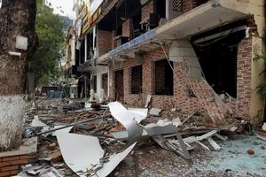 Vụ nổ nhà hàng lẩu nướng lớn nhất TP Vinh: Thiệt hại lên đến 10 tỷ đồng