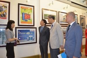 Triển lãm giới thiệu các thành tựu và kết quả 15 năm triển khai thương hiệu quốc gia