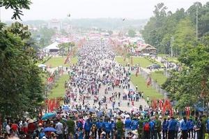 Hai ngày khai hội, Đền Hùng đón nhận khoảng 1,5 triệu lượt du khách