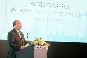 Thủ tướng Nguyễn Xuân Phúc dự Hội nghị Gặp gỡ châu Âu năm 2018