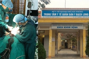 Bệnh nhân vỡ thai ngoài tử cung được cứu sống kịp thời