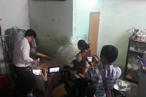 Đà Nẵng: Làm sữa bắp bẩn, 2 cơ sở bị đình chỉ