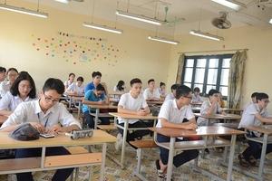 95 nghìn thí sinh Hà Nội bước vào kỳ thi tuyển sinh lớp 10