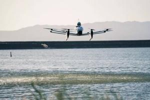 """""""Xe bay điện"""" của nhà sáng lập Google gây sửng sốt"""