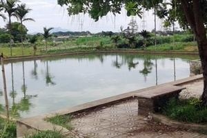 Hà Nội: Hai chị em đuối nước thương tâm ở giếng làng