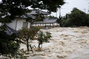 Mưa lũ lịch sử tại Nhật khiến ít nhất 85 người chết