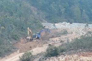 Huyện Sóc Sơn - Hà Nội: Nhiều công trình xâm phạm đất quy hoạch rừng phòng hộ