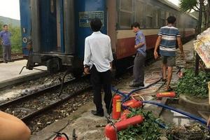 Cháy toa tàu khách, sự cố đường sắt nghiêm trọng thứ 7