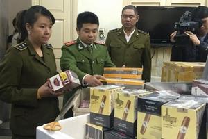 Kinh doanh trái phép xì gà tăng mạnh, Phó Thủ tướng yêu cầu đẩy mạnh chống buôn lậu