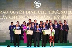 Hà Nội: Cấp phép 71 dự án với tổng mức đầu tư gần 400 nghìn tỷ đồng
