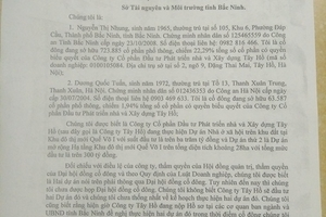 Phó Chánh văn phòng UBND tỉnh Bắc Ninh ra văn bản trái luật