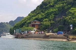 Công trình tàn phá môi trường vùng lõi Vịnh Hạ Long?