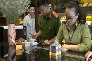 Hà Nội: Ra quân kiểm tra thu giữ số lượng lớn xì gà không rõ nguồn gốc