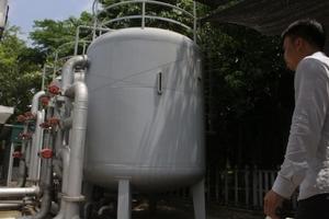 Khu đô thị Ecopark chưa có giấy phép khai thác nước ngầm?