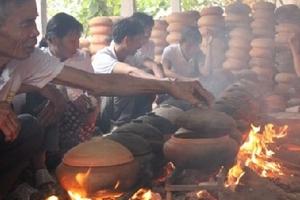Cá kho làng Vũ Đại cháy hàng dịp Tết Đinh Dậu