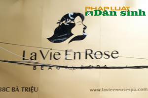 La Vie En Rose Beauty & Spa không được cấp phép phẫu thuật thẩm mỹ