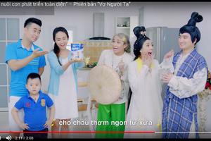 Vinamilk dẫn đầu bảng xếp hạng quảng cáo YouTube khu vực Châu Á- Thái Bình Dương