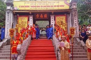 Lễ hội đền Kim Liên – nét văn hóa đặc sắc phía Nam thành Thăng Long