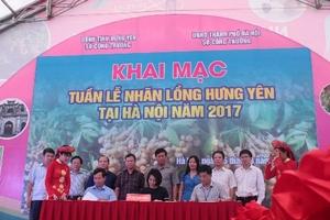"""Big C Việt Nam phối hợp tổ chức """"Tuần lễ Nhãn lồng Hưng Yên tại Hà Nội năm 2017"""""""