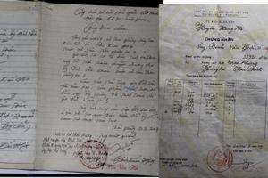 Hà Nội đã cấp 'sổ đỏ' cho đất mua bán viết tay
