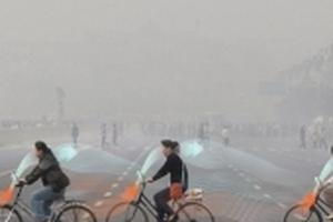 Ô nhiễm trầm trọng, Trung Quốc chế xe đạp 'ăn' khói và 'nhả' khí sạch