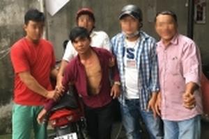 Bị hiệp sĩ bắt giữ khi chạy xe trộm cắp sang Campuchia tiêu thụ
