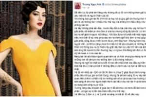 Trương Ngọc Ánh: 'Lòng tốt của tôi bị tổn thương'