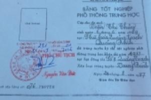 Gia Lai: Phát hiện Chủ tịch Hội Phụ nữ xã sử dụng bằng giả