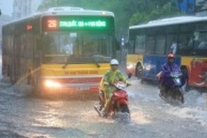 Miền Bắc vừa hết nắng nóng lại sắp có nguy cơ ngập lụt do mưa lớn dài ngày