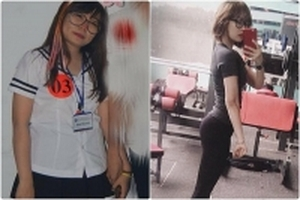 Tự ti với thân hình mũm mĩm, cô gái 1m58 giảm 10kg để trở nên quyến rũ bất ngờ