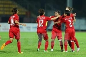 Thắng đậm Malaysia, Việt Nam giành HCV bóng đá nữ SEA Games 29