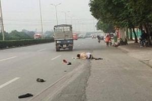 Chạy quá tốc độ, tài xế taxi tông trúng một CSGT rồi bỏ chạy