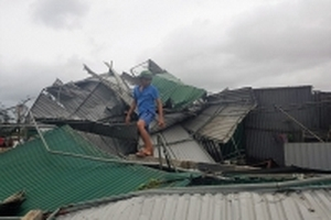 'Khúc ruột miền Trung' oằn mình trước cơn bão số 10