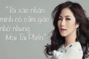 Hương Tràm thừa nhận có cảm giác nhớ nhung 'thầy giáo mưa' Mai Tài Phến, nhưng sợ yêu vì áp lực dư luận