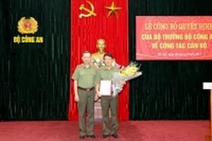 Thiếu tướng Lương Tam Quang giữ chức Chánh văn phòng Bộ Công an