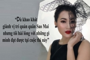 Á quân Sao Mai 2017 Lê Nhung: 'Cô giáo khuyên tôi không nên theo ca hát, nên theo văn hóa'